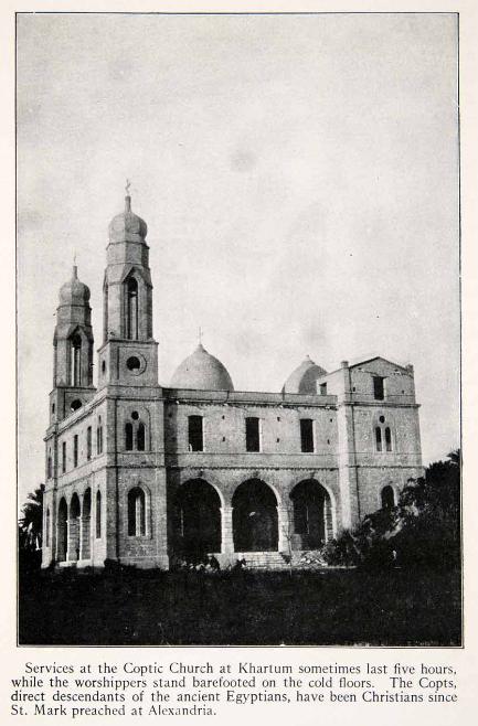 Coptic cathedral khartoum 1923