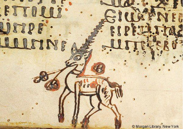 Coptic unicorn