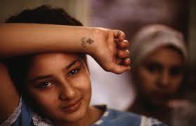 Coptic cross tattoo