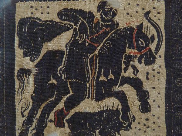 Coptic horseman