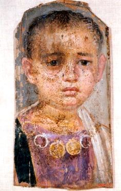 Fayum portrait child