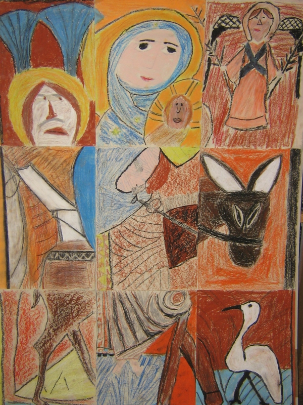 Flight to Egypt Pupils1.JPG