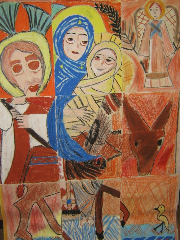 Flight to Egypt Pupils2