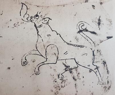Mythical hound